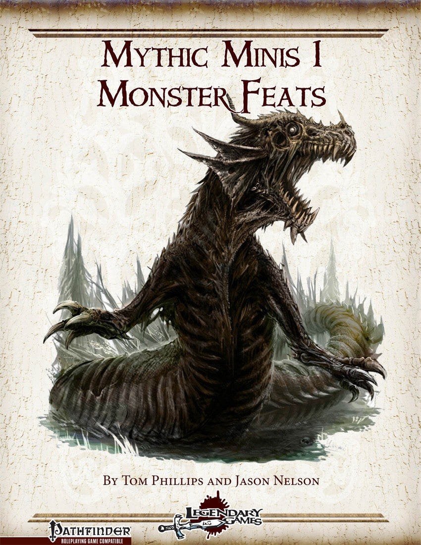 Mythic Minis 1: Monster Feats