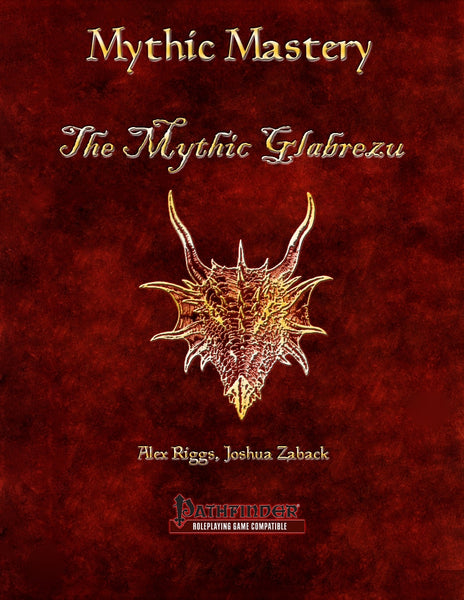 Mythic Mastery - The Mythic Glabrezu