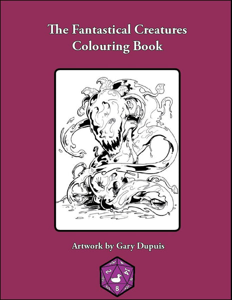 The Fantastical Creatures Coloring Album
