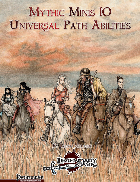 Mythic Minis 10: Universal Path Abilities