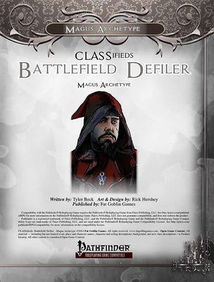 CLASSifieds: Battlefield Defiler (Magus Archetype)