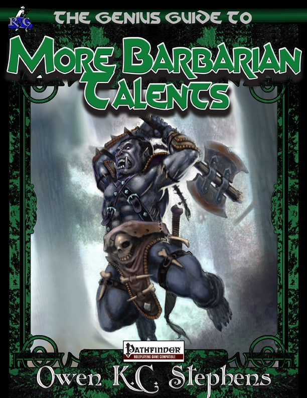 The Genius Guide to More Barbarian Talents