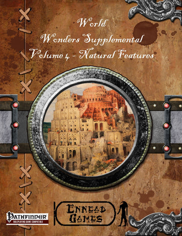 World Wonders Supplement 4 - Natural Features