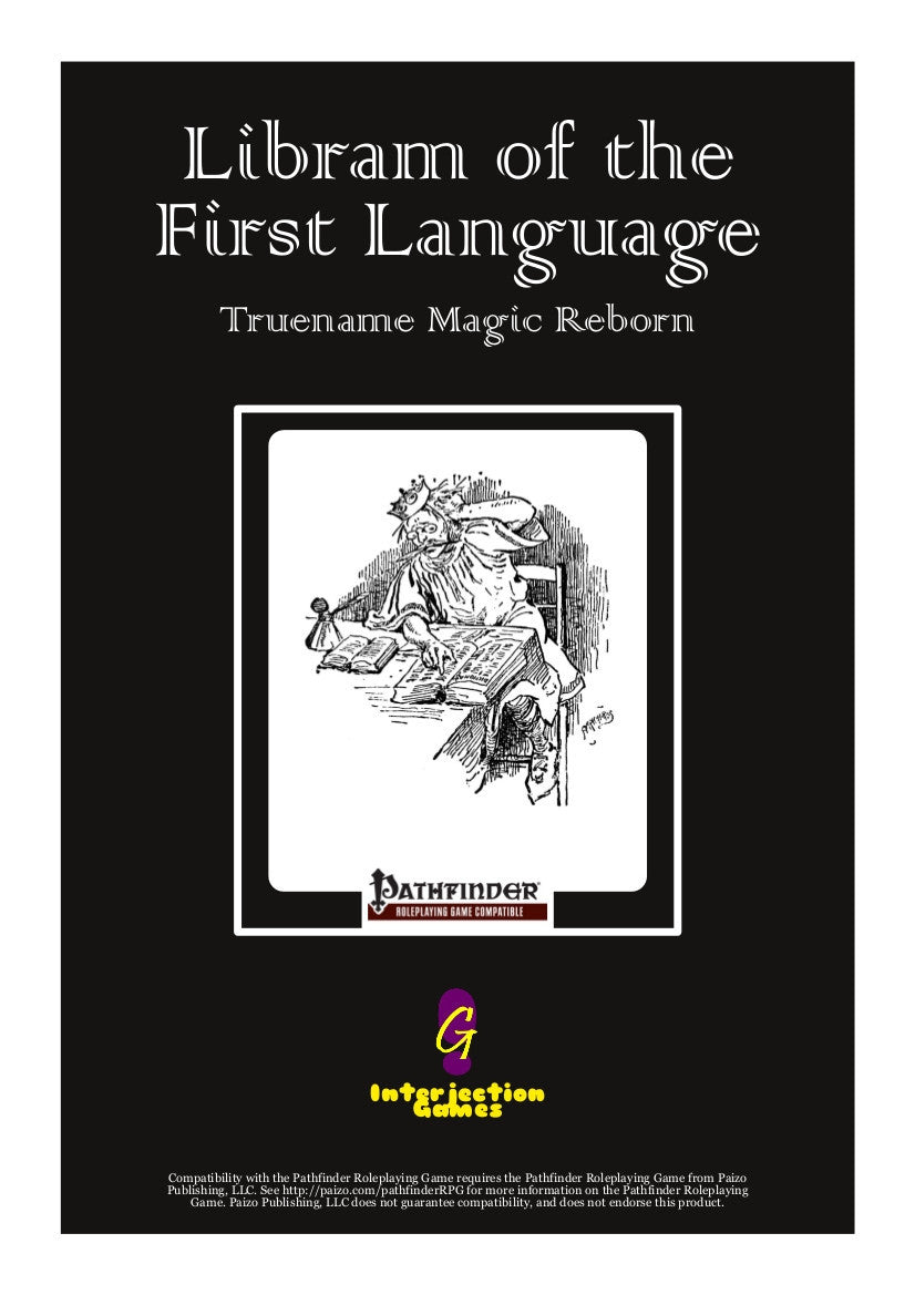 Libram of the First Language: Truename Magic Reborn