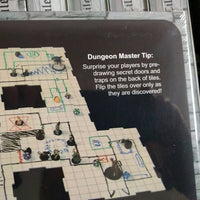 "Dry Erase Dungeon Tiles-White (5 10"" tiles and 16 5"" tiles)"