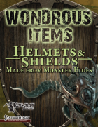Wondrous Items 2: Helmets & Shields Made from Monster Hides