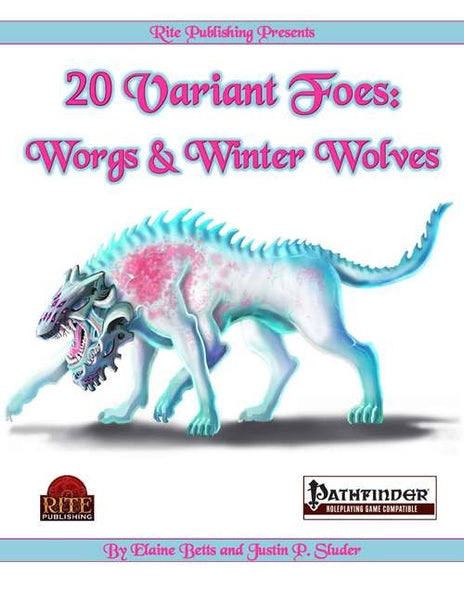 20 Variant Foes: Worgs and Winter Wolves
