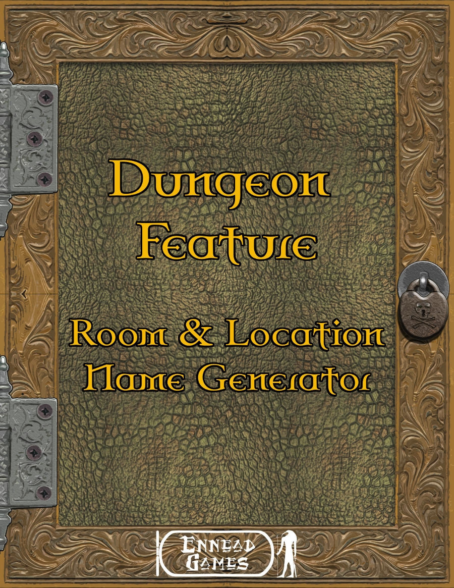 Dungeon Feature - Room & Location Name Generator