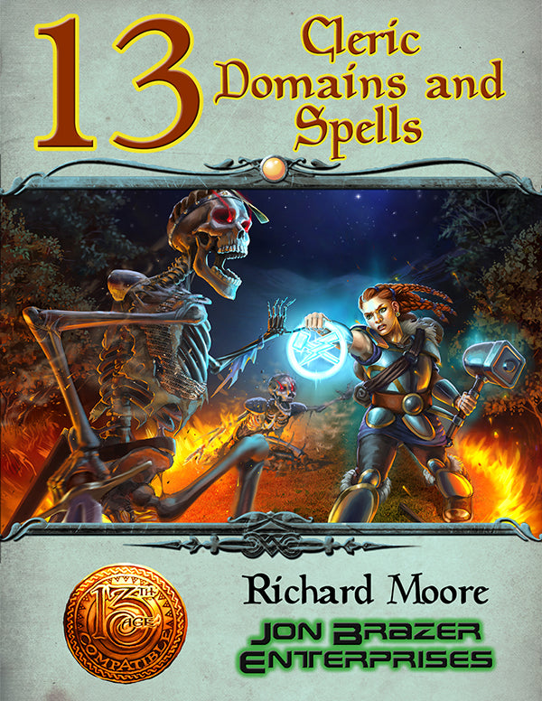 13 Cleric Domains and Spells (13th Age Compatible) PDF