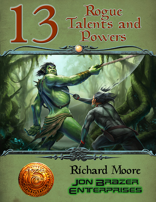 13 Rogue Talents and Powers (13th Age Compatible)