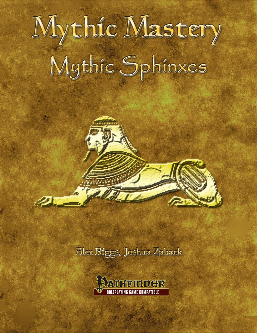 Mythic Mastery - Mythic Sphinxes