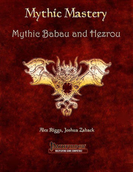 Mythic Mastery - Mythic Babau and Hezrou