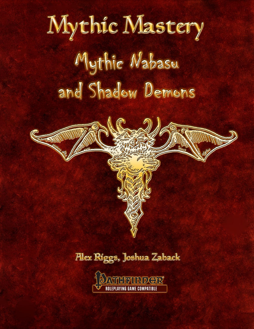 Mythic Mastery - Mythic Nabasus and Shadow Demons