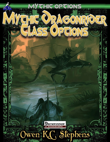 Mythic Options: Mythic Dragonrider Class Features