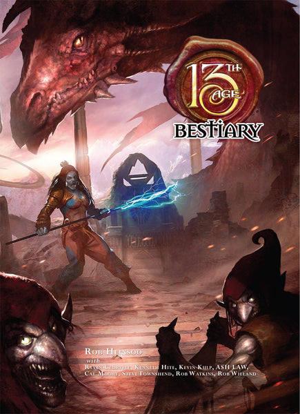 13th Age Bestiary (Hardcover)