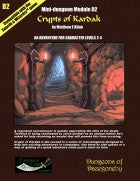 Crypts of Kardak- A Swords & Wizardry Mini-Dungeon