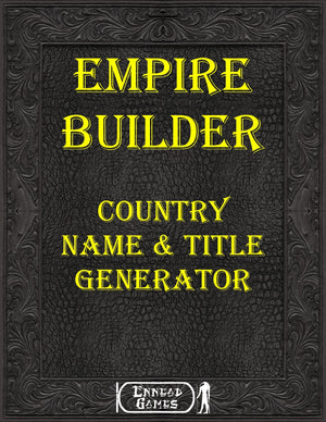 Empire Builder - Country Name & Title