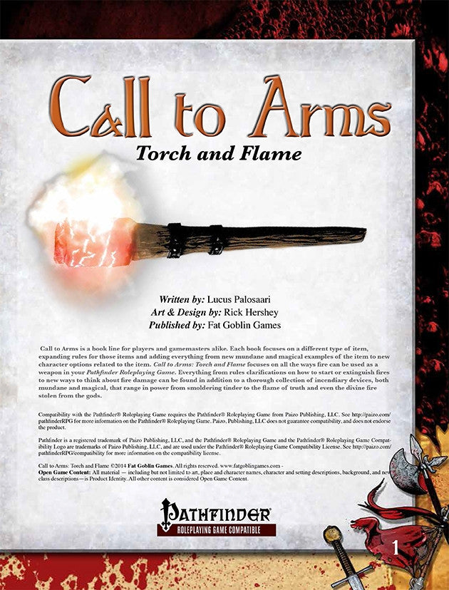 Call to Arms: Torch and Flame