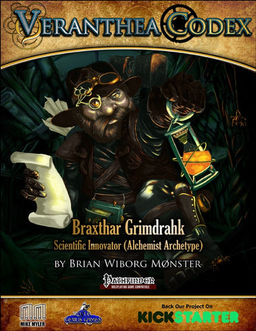 Veranthea Codex: Braxthar Grimdrahk, Scientific Innovator - FREE PDF