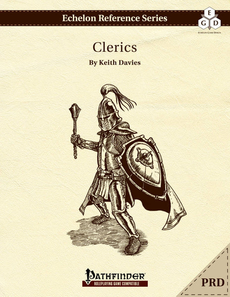 Echelon Reference Series: Clerics (PRD-only)
