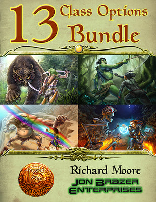13 Class Options Bundle (13th Age Compatible)