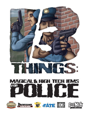 13 Things: Police Magic and High-Tech Items