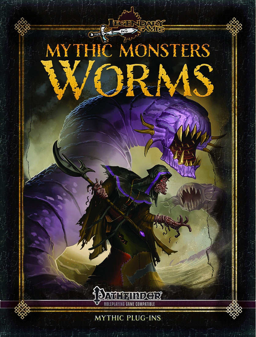 Mythic Monsters: Worms for Pathfinder RPG from Legendary Games