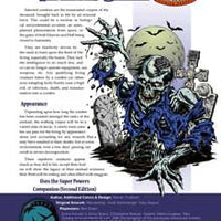 Monster Brief: Infected Zombie