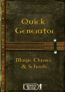 Quick Generator Magic Schools & Classes