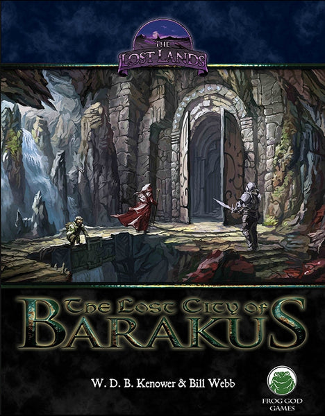 The Lost Lands: The Lost City of Barakus (PDF Only)