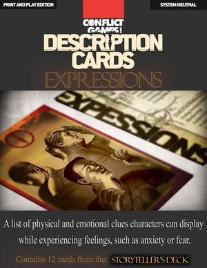 Description Cards - Storytellers Deck - EXPRESSIONS Excerpt