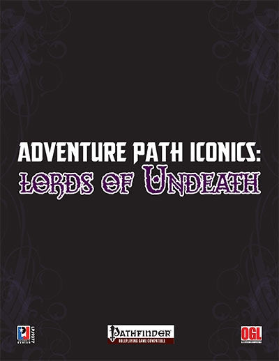 Adventure Path Iconics: Lords of Undeath (PFRPG)