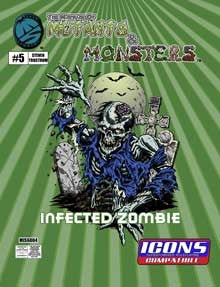The Manual of Mutants & Monsters: Infected Zombie for ICONS