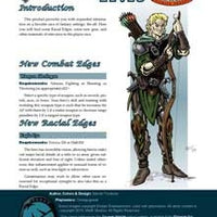 Player Races: Elves