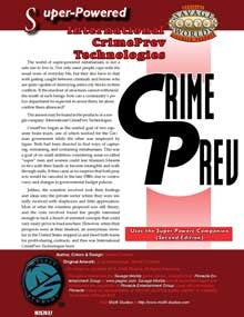 Super-Powered: International CrimePrev Technologies