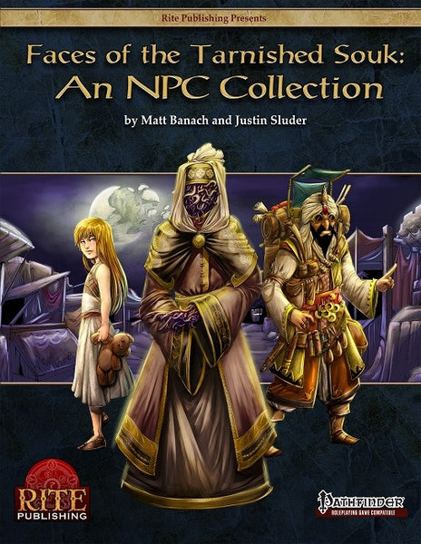 Faces of the Tarnished Souk: An NPC Collection (PFRPG)