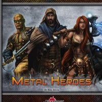 Metal Heroes: Pregenerated Characters