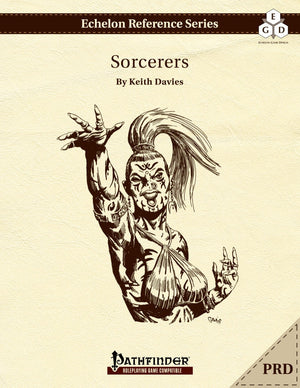 Echelon Reference Series: Sorcerers (PRD-Only)