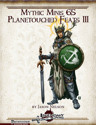 Mythic Minis 65: Planetouched Feats III