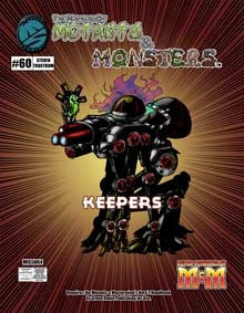 The Manual of Mutants & Monsters Keepers