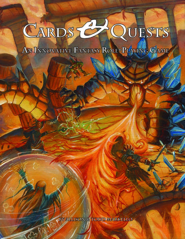 Cards & Quests: An Innovative Fantasy Role Playing Game