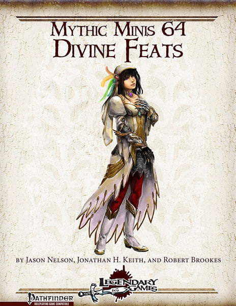 Mythic Minis 64: Divine Feats