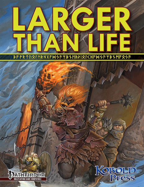 Larger than Life: Giants for the Pathfinder Roleplaying Game