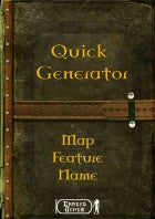 Quick Generator - Map Feature Name
