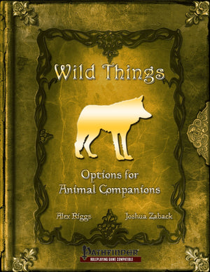 Wild Things - Options For Animal Companions