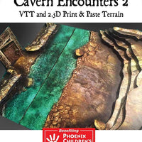 Adventure Map Tiles: Cavern Encounters Tiles Set 2