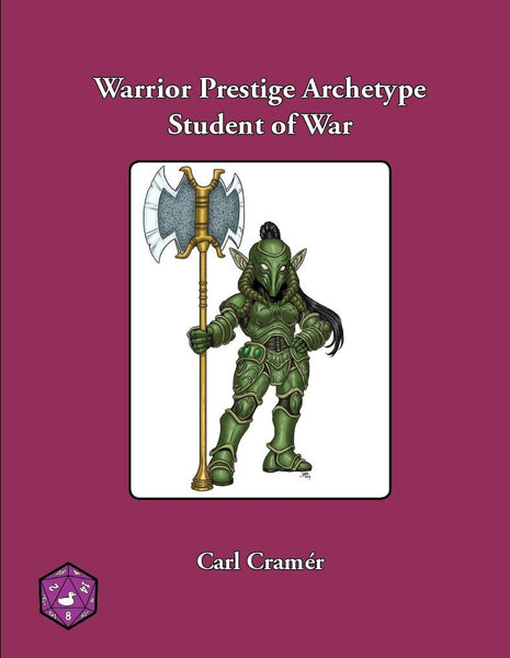 Warrior Prestige Archetype: Student of War
