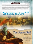 Sidebar #5 - The Secret Roll