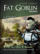 Fat Goblin Gazette Issue 1 - August 2015