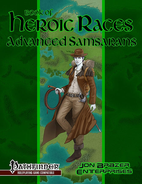 Book of Heroic Races: Advanced Samsarans (Pathfinder)